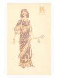 French Fashion, Assyrica Poster