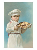 Little Boy Baker Posters