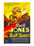 The Thrill Hunter, Buck Jones, 1933 Posters