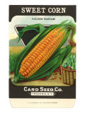 Sweet Corn Seed Packet Posters