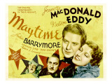 Maytime, Herman Bing, John Barrymore, Nelson Eddy, Jeanette Macdonald, 1937 Posters