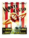 Monte Carlo, Jeanette Macdonald on Window Card, 1930 Posters