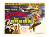 Spitfire, Rosamund John, David Niven, Leslie Howard, 1942 Posters