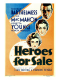 Heroes for Sale, 1933 Affiches