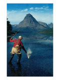 Fishing in the Great Outdoors Prints