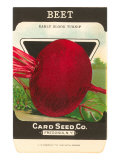 Beet Seed Packet Posters