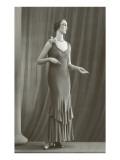 Twenties Mannequin in Long Dress Prints