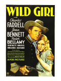 Wild Girl, Charles Farrell, Joan Bennett, 1932 Photo