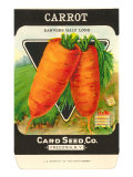 Carrot Seed Packet Print