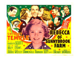 Rebecca of Sunnybrook Farm, Jack Haley, Bill Robinson, Phyllis Brooks, 1938 Posters