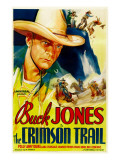 The Crimson Trail, Buck Jones, 1935 Prints