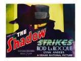 The Shadow Strikes, Rod La Rocque, 1937 Photo