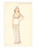 French Fashion, Persische Fayence Prints