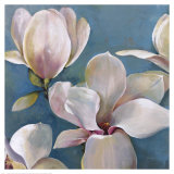 New Magnolias I Posters by  Georgie