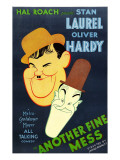 Another Fine Mess, Oliver Hardy, Stan Laurel, 1930 Pósters