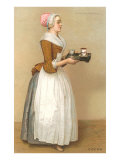 Dutch Maid Carrying Chocolate Prints