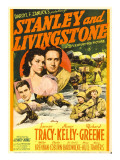 Stanley and Livingstone, Richard Greene, Nancy Kelly, Spencer Tracy on Midget Window Card, 1939 Poster