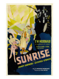 Sunrise, (Aka &#39;sunrise: a Song of Two Humans&#39;); in Foreground, 1927 Posters