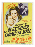 The Story of Alexander Graham Bell, Don Ameche, Loretta Young, 1939 Prints