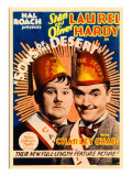 Sons of the Desert, Oliver Hardy, Stan Laurel, 1933 Poster