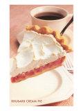 Rhubarb Cream Pie Posters