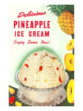 Pineapple Ice Cream Prints