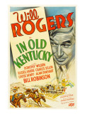 In Old Kentucky, Will Rogers, 1935 Fotografía