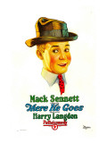 There He Goes, Harry Langdon, 1925 Posters