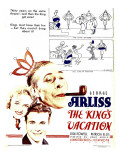 The King's Vacation, 1933 Posters