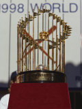 Baseball World Series Trophy Photographic Print by Steven Sutton