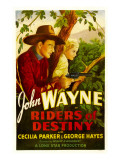 Riders of Destiny, John Wayne, Cecilia Parker, 1933 Photographie
