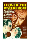 I Cover the Waterfront, Ben Lyon, Ernest Torrence, Claudette Colbert, 1933 Posters