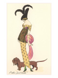 French Fashion, Dachshund Prints