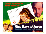 Nine Days a Queen, Nova Pilbeam, Cedric Hardwicke, John Mills, Sybil Thorndike, 1936 Print