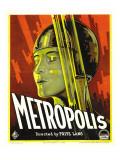 Metropolis, Brigitte Helm, 1927 Posters