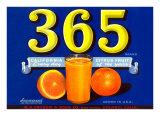 365 Orange Crate Label Posters