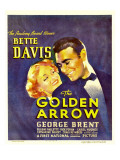 The Golden Arrow, Bette Davis, George Brent on Window Card, 1936 Photo