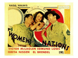 Women of All Nations, Edmund Lowe, Greta Nissen, Victor Mclaglen, 1931 Poster