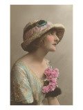 French Fashion, Mooney Woman in Hat Posters
