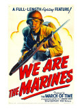 We are the Marines, 1942 Posters