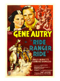 Ride, Ranger, Ride, Kay Hughes, Gene Autry, the Tennessee Ramblers, 1936 Posters