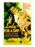 Lady for a Day, Warren William, May Robson, Guy Kibbee, 1933 Posters