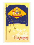 Flag of Delaware Posters