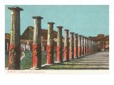 Centurions' Barracks, Pompeii, Italy Prints