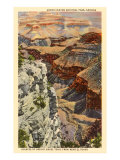 Bright Angel Trail, Grand Canyon Posters