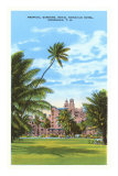 Royal Hawaiian Hotel, Honolulu, Hawaii Prints