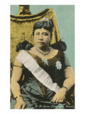 Queen Liliukalani, Hawaii Poster