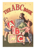 The ABC Cook Book, Children with Big Blocks Prints