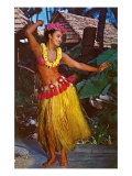 Hula Dancer, Hawaii Art