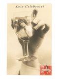 Let's Celebrate, Girl in Glass Prints
